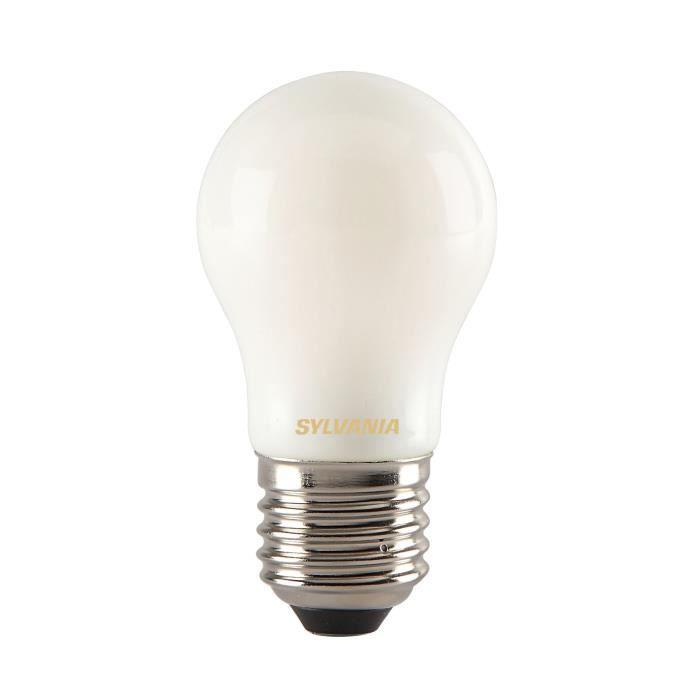 SYLVANIA Ampoule LED à filament Toledo RT Ball E27 4W équivalence 35W