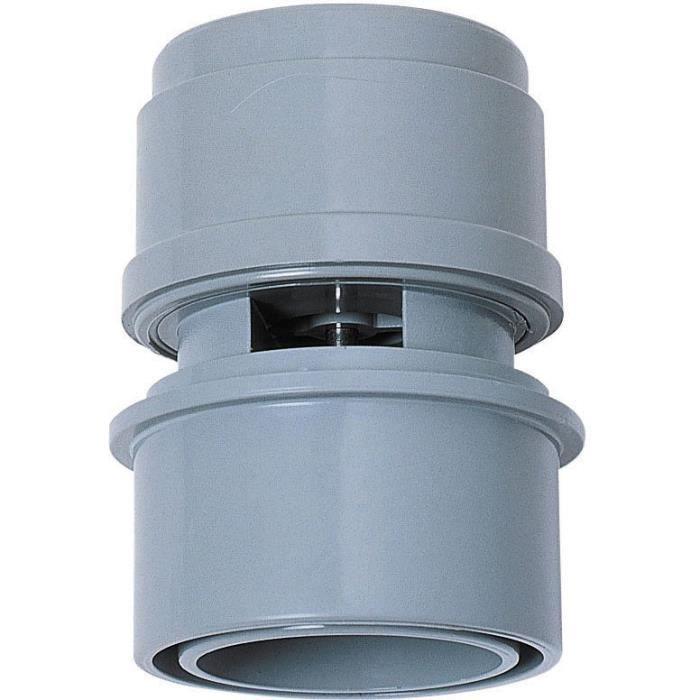 WIRQUIN Anti-vide droit VP15 - Pour tube Ø 32 ou 40 mm - À coller