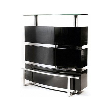 bar design tentation laqu noir achat vente meuble bar bar design tentation laqu soldes. Black Bedroom Furniture Sets. Home Design Ideas