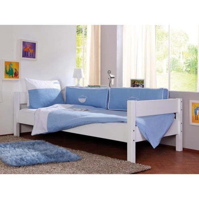 housse de couette bleu gar on achat vente housse de. Black Bedroom Furniture Sets. Home Design Ideas