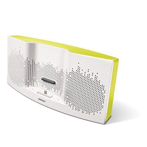 bose enceinte sounddock xt blanc jaune enceintes prix. Black Bedroom Furniture Sets. Home Design Ideas