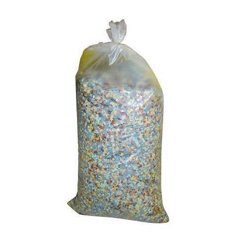 Lot 5 Sac de 5kg de Confettis soit 25kg pour Soir/ée Carnaval Multicolore