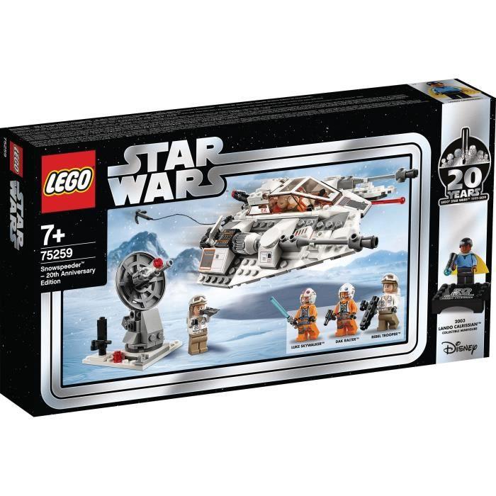 ASSEMBLAGE CONSTRUCTION LEGO Star Wars™ 75259 Snowspeeder™ – Édition 20ème