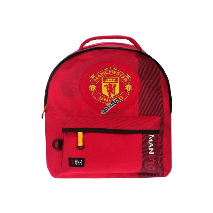 124f652a3d Sac à dos Manchester United football Red devils - officiel Rouge ...