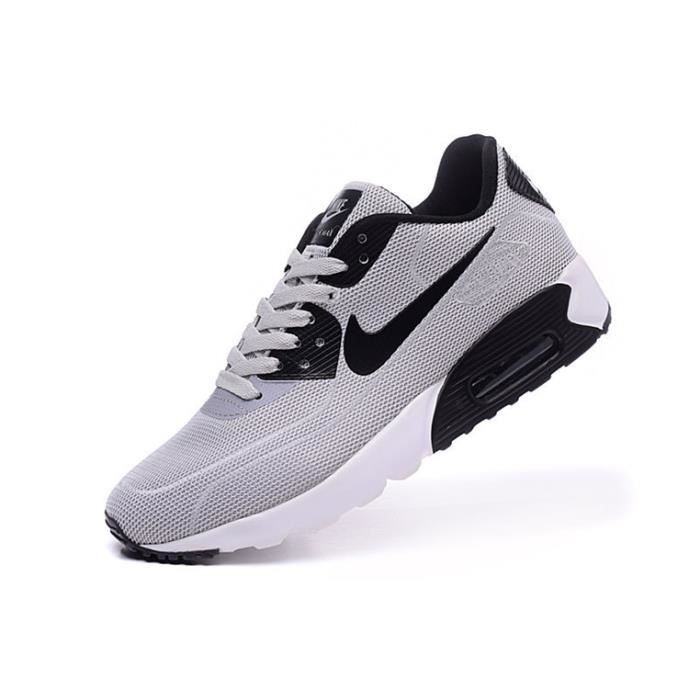 Homme Nike 2015 AIR MAX 90 sports sneakers running chaussures gris
