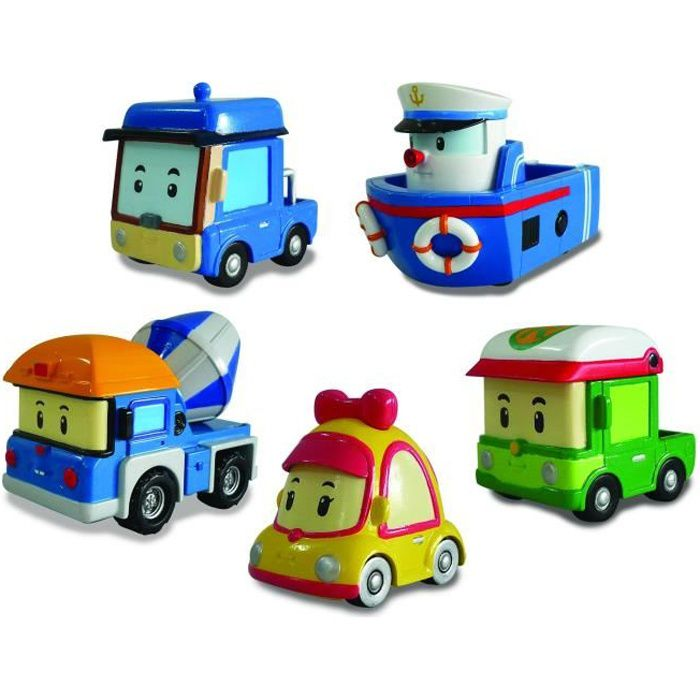 robocar poli assortiment petites voitures achat vente voiture camion cdiscount. Black Bedroom Furniture Sets. Home Design Ideas