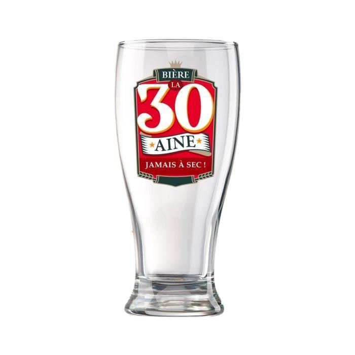 Vaisselle Et Arts De La Table 30 Ans Verre A Biere En Coffret Cuisine Maison Hotelaomori Co Jp