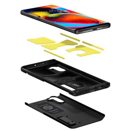 Spigen Coque Samsung Galaxy Note 10 [Tough Armor] Double Protection Renforcé Anti