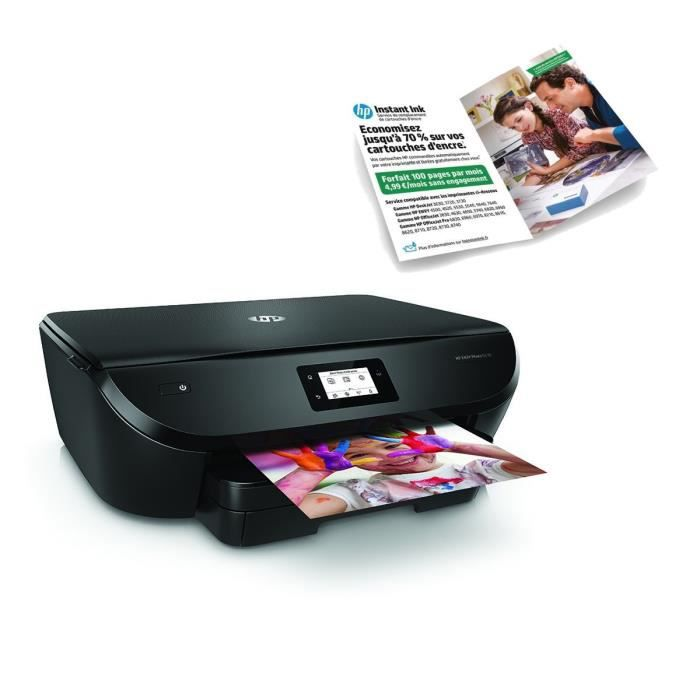 HP Imprimante Tout en un Envy Photo 6230 + Forfait Instant ink 100 pages