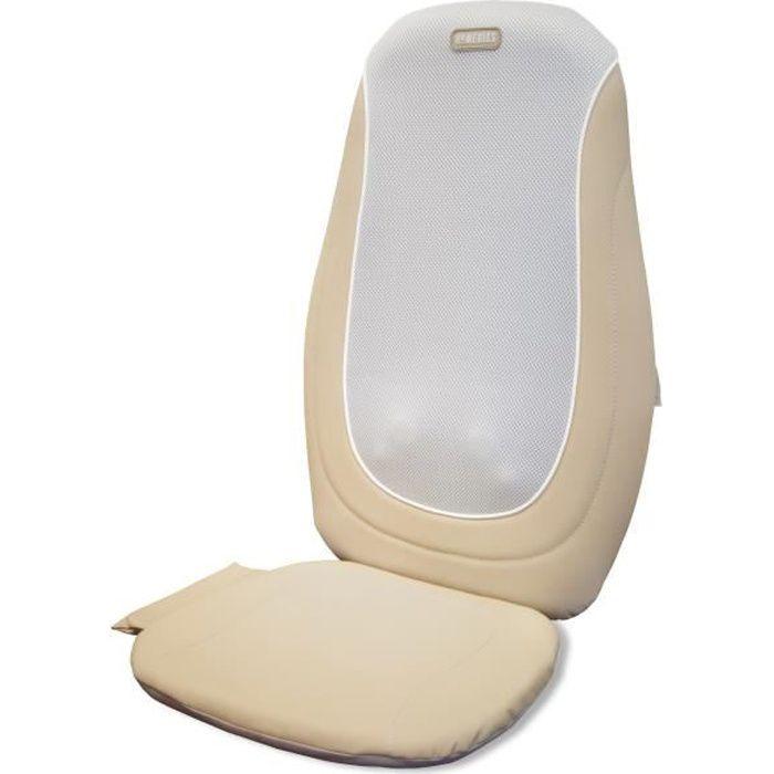 HIGH-TECH & BIEN-ETRE ®Siège massant - fauteuil massant mulitifonction 3 en 1- detachable