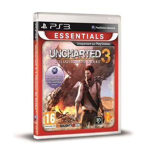 JEU PS3 UNCHARTED 3 ESSENTIAL / Jeu console PS3