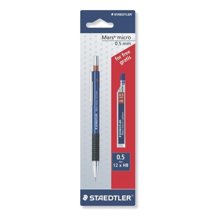 Staedtler porte mine 0 5 mm mines achat vente crayon for Porte mine 0 3 mm