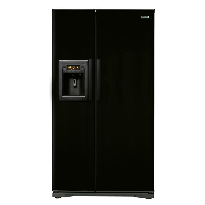 refrigerateur beko noir. Black Bedroom Furniture Sets. Home Design Ideas