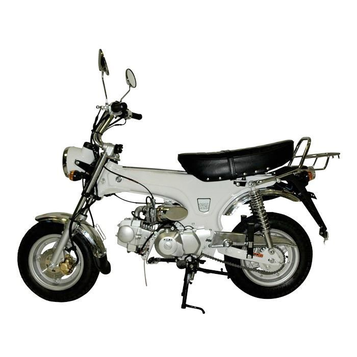 mini moto 125 cc blanc dax replica achat vente moto. Black Bedroom Furniture Sets. Home Design Ideas