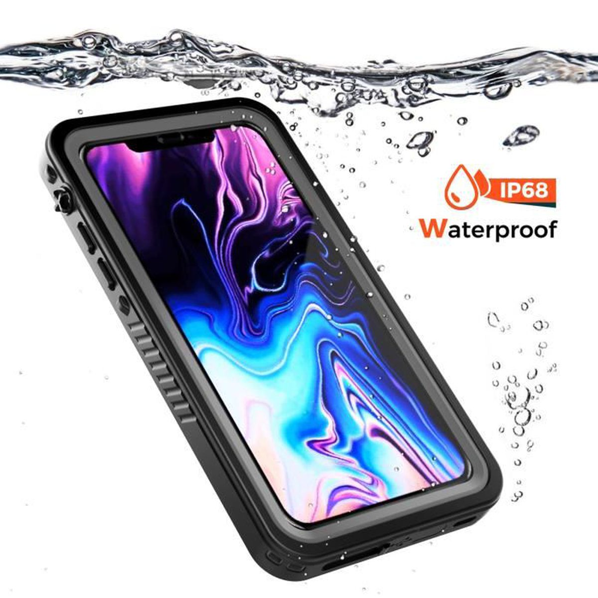 coque antipoussiere iphone xs