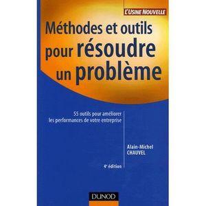 LIVRE GESTION Méthodes et outils pour résoudre un problème