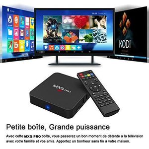 BOX MULTIMEDIA TV Box MXQ Pro S905W 4K Android 7.1 Smart Quad-cor