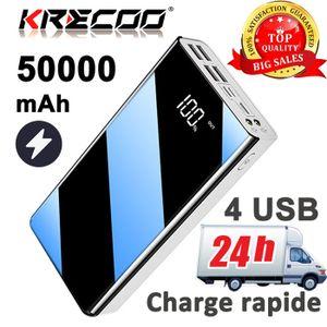 BATTERIE EXTERNE ARIO-50000mAH Cellule solaire portable grande capa