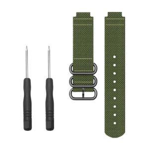 MONTRE Remplacement souple en nylon Sport boucle Bracelet