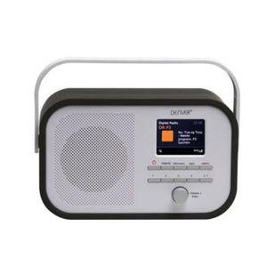 RADIO CD CASSETTE RADIO FM/DAB+ AVEC ECRAN TFT 2,4