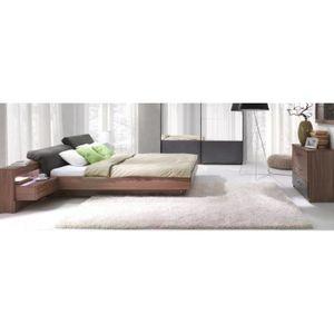 CHAMBRE COMPLÈTE  Ensemble design pour chambre à coucher RENATO. Lit