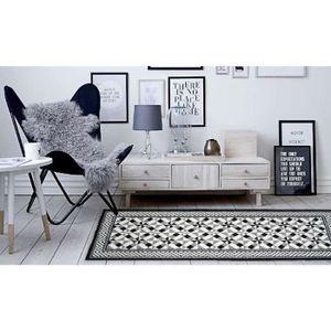 TAPIS UTOPIA Tapis de salon carreaux de ciment 50x100 cm