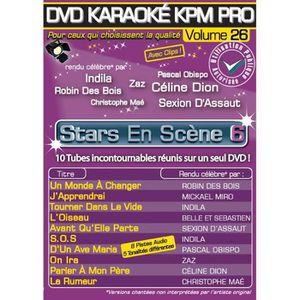 DVD MUSICAL DVD Karaoké KPM Pro Vol.26