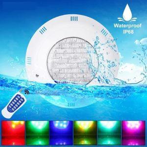PROJECTEUR - LAMPE 24W Projecteur Lampe LED Couleur Pour Piscine IP68