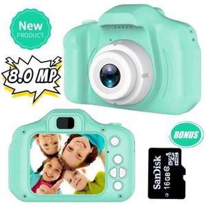 APPAREIL PHOTO ENFANT Jouets 3-6 Ans Fille Appareil Photo Enfant 8MP App