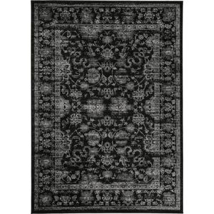 tapis poil ras vintage velvet noir 200x290 cm tapis poil court design moderne 60002802. Black Bedroom Furniture Sets. Home Design Ideas