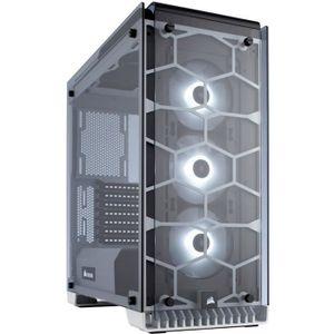 BOITIER PC  CORSAIR Boitier Moyen Tour Crystal 570X RGB - Blan