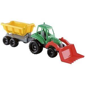 JEU SOCIÉTÉ - PLATEAU Jouets Ecoiffier -327 - Tracteur avec remorque - J