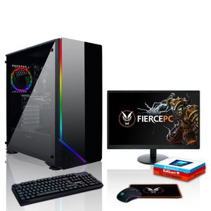 UNITÉ CENTRALE  Fierce Predator PC Gamer de Bureau - Intel Core i5