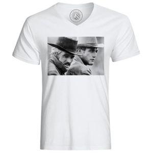 T-SHIRT T-Shirt Homme Photo de Stars Célébrités Paul Newma