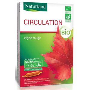 CIRCULATION SANGUINE Naturland - Extrait Fluide Bio - Vigne Rouge