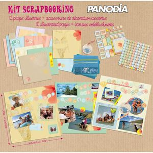 KIT SCRAPBOOKING Panodia Kit de pages scrapbooking Creato Voyages V