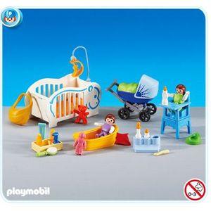 UNIVERS MINIATURE PLAYMOBIL 6226 - Equipements pour bébés
