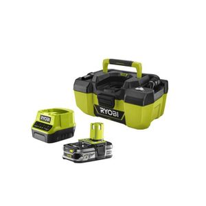 BATTERIE MACHINE OUTIL Pack aspirateur d'atelier RYOBI 18V One Plus R18PV