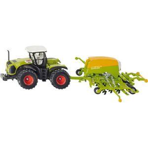 VOITURE - CAMION 1/87 Tracteur CLAAS XERION avec semoir AMAZONE