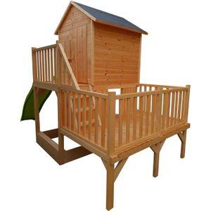 MAISONNETTE EXTÉRIEURE Cabane en bois pour enfant  JANIA