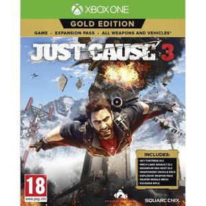 JEU XBOX ONE Just Cause 3 Gold Edition (Xbox One) - Import Angl