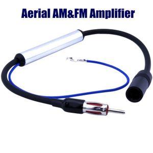 ANTENNE AUTO-MOTO Antenne Booster Amplifiée Amplificateur Pour Voitu
