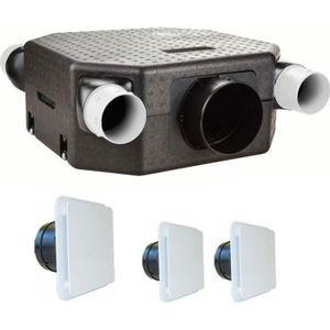 VMC - ACCESSOIRES VMC Vmc deco flat dhu k avec sonde hygro - kit avec bo