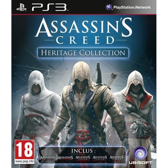 Assassin S Creed Heritage Collection Ps3 Achat Vente Jeu Ps3
