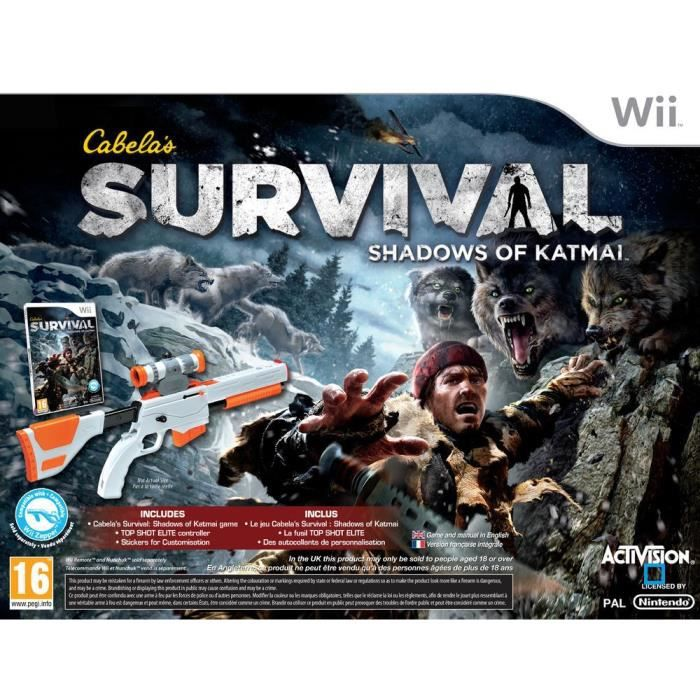 JEUX WII CABELA'S SURVIVAL: SHADOWS OF KATMAI / Wii