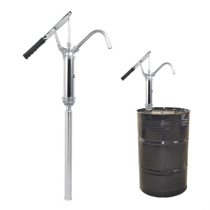 20L-min Pompe à Levier Pompe à main Pompe de pression pour Fût Pompe à huile manuel Pompe manuelle HB045 -LES