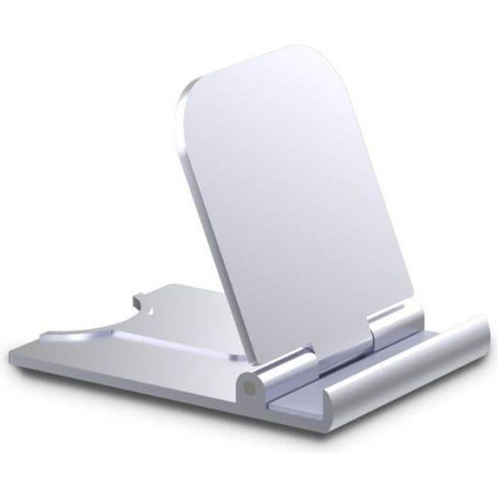 Support De Tablette Téléphone Portable Argent Support Téléphone Portable Universel Bureau
