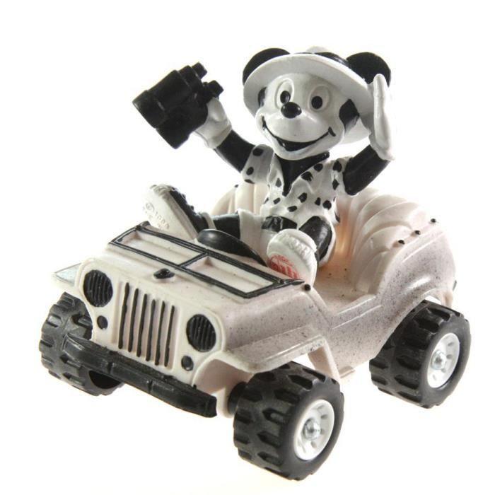 Voitures miniatures Mickey sur sa Jeep safari