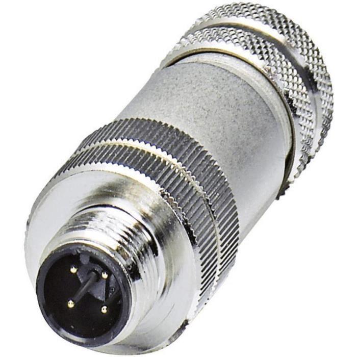 Connecteur pour capteurs/actionneurs Conditionnement: 1 pc(s) Phoenix Contact SACC-M12MS-5CON-PG 9-SH 1694266