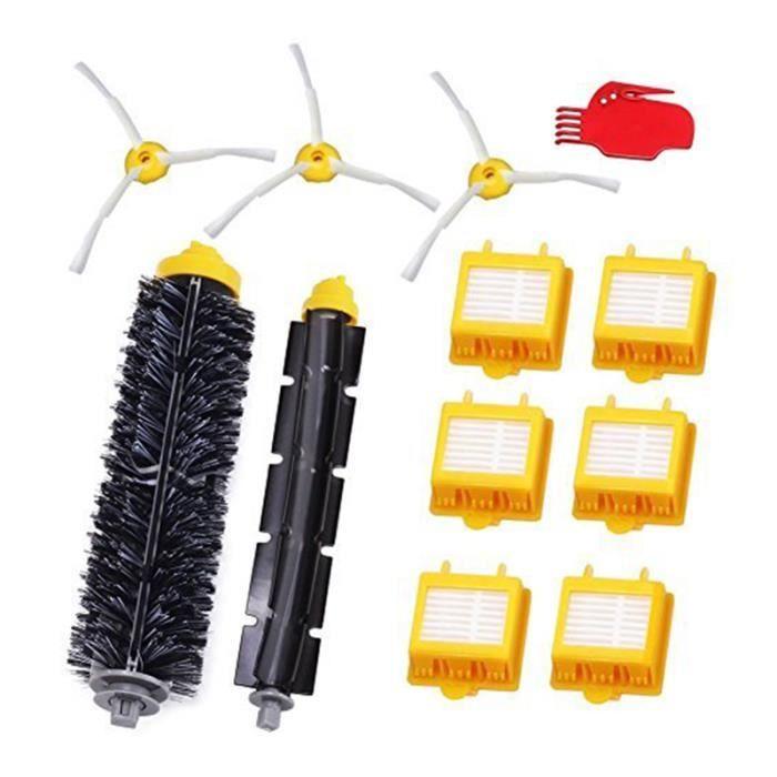 Pour IRobot Roomba Série 700 Remplacement kit 760 770 772 774 775 776 780 782 785 786 790-Accessoires, filtres et brosses
